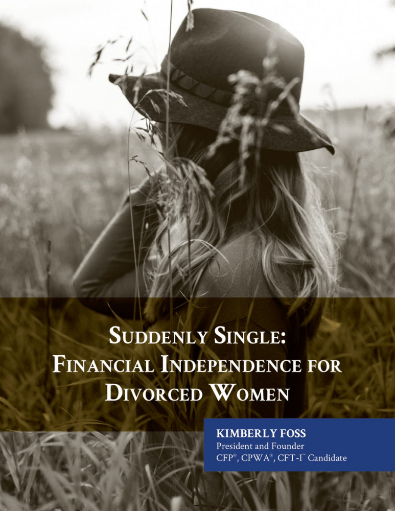 Suddenly Single — Financial Independence for Divorced Women Whitepaper